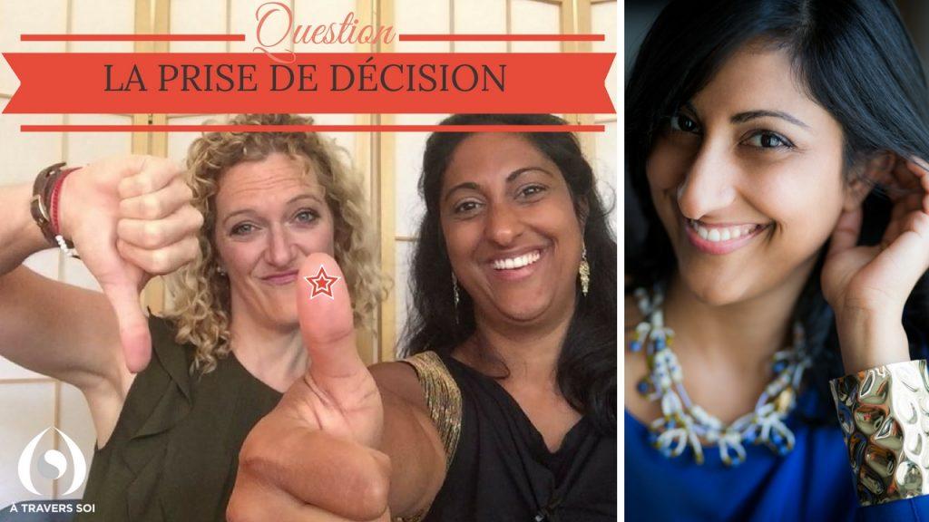 la prise de décisions